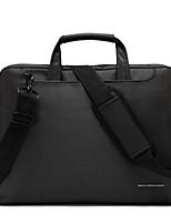 pano de saco de ombro laptop nylon impermeável 14,1 polegadas com saco de mão cinta messenger para macbook / dell / hp, etc