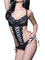 Vêtement de nuit Femme Bustiers Correspondants Polyester / Spandex