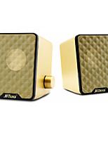 Jituo Multimedia Diaphragm Bass Speaker JT2616 GOLD