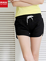Women's Running Shorts Yoga / Pilates / Fitness / Cycling/Bike / Running Breathable / Quick Dry / Soft Black