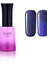 ILuve Nail Polish Temperature Colour Changing Chameleon UV Led Gel - For Nail Art - Long Lasting Soak Off Varnish # 5754
