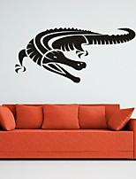 Animaux / Romance / Mode / Abstrait / Fantaisie Stickers muraux Stickers avion,PVC M:42*90cm / L:55*121cm