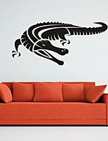 AYA™ DIY Wall Stickers Wall Decals, Crocodile PVC Wall Stickers