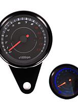 iztoss moto tachymètre tachymètre compteur kilométrique compte-tours 0-13000 rpm