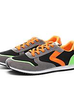 Scarpe da uomo-Sneakers alla moda-Casual-Tulle-Nero / Blu / Grigio