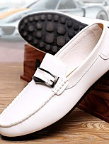 Men's Shoes Amir New Style Business Office / Casual Comfort Leisure Time Loafers Black / Brown / White