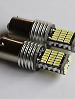 1156/1157 / t15 / t20 4014-45smd Autoheckbremslicht Blinker Rückfahrscheinwerfer Seitenmarkierungsleuchte weiß