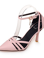 Women's Shoes Stiletto Heel Heels / Pointed Toe Heels Casual Black / Pink / Beige