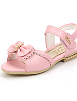 Girls' Shoes Outdoor / Casual Peep Toe / Gladiator Leatherette Sandals / Flats Blue / Pink