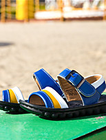 Girls' Shoes Outdoor / Casual Comfort Other Animal Skin Sandals Blue / White