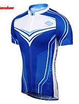 Jerseyes(Azul) - deCiclismo-Transpirable / Secado rápido / Reductor del Sudor- deMangas cortas Hombres Verano / Otoño EsláticoS / M / L /