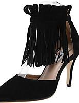 Scarpe Donna-Scarpe col tacco-Ufficio e lavoro / Formale / Casual / Serata e festa-Tacchi-A stiletto-Sintetico-Nero / Grigio