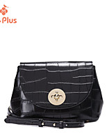 M.Plus® Women's Fashion Crocodile PU Leather Messenger Shoulder Bag
