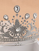 Bride's Rhinestone Forehead Wedding Crown Tiaras Headwear 1 Pieces