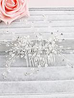Kristallen Vrouwen Helm Bruiloft / Speciale gelegenheden / Casual / Kantoor & Cariere / Outdoor HaarkammenBruiloft / Speciale