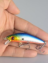 Lot 10Pcs Lifelike Minnow Fishing Lure 7CM 8.5G 6# Hooks Fish Wobbler Tackle Crankbait Artificial Hard Bait Swimbait