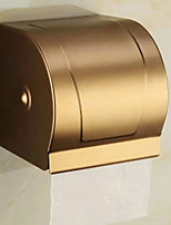 Contemporary Space Aluminum Brushed Wall Mounted Toilet Paper Holder