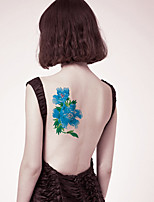 Fashion Temporary Tattoos Sexy Body Art Waterproof Tattoo Stickers Lovely Flowers 5PCS