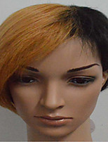 Popular Stra Style  Mix Color Short Straight Hair Wigs for Party and Daily Life