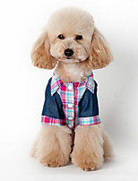 Classic Cowboy Plaid Pet Shirt