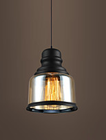 New Max 60W Retro Lighting Loft Bar Restaurant Lights Personality Living Room Clothing Store Glass Pendant Light