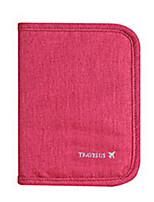 Etui à Passeport & Pièce d'IdentitéForRangement de Voyage Tissu Gris / Bleu / Rouge / Violet / Orange 17*10*3cm
