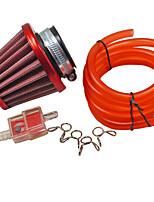 air-carburant modifié la ligne de tube filtre du tuyau fixé pour la saleté suzuki pit bike atv 70-150cc