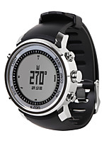 Sports Watch UnisexLCD / Altimeter / Compass / Pulse Meter / Thermometer / Calendar / Chronograph / Water Resistant / Dual Time Zones /