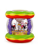 Beat Drum Music Toy Plastic Red / Green / Yellow / Purple