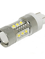 High Quality S-MAX Fiesta etc 12V T20 5050 15SMD 7.5W Car LED Turn Signal Lamp Car Brake LED Bulb  Car LED Tail Light