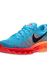 Zapatos Sneakers Tejido Azul / Azul Marino / Naranja / Azul Real Hombre