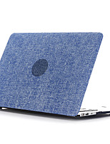 Denim Style PC Flat Shell For MacBook Pro 13
