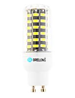 Lâmpadas Espiga GU10 12W 1200 lm 6000-6500;3000-3500 K Branco Quente / Branco Frio 64 SMD 1 pç AC 220-240 V T