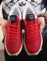 Men's Sneaker Shoes Tulle Black / Blue / Red
