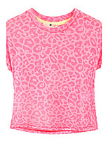 Girl's Pink Tee Cotton Summer / Spring