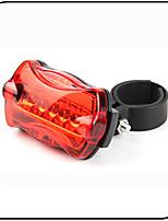 Fietsverlichting,achterlichten / veiligheidslichten-6 Mode 80 Lumens Waterdicht / antislip AAAx2 Accu Fietsen/Fietsen Rood FietsenXIE