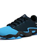 Scarpe da uomo-Sneakers alla moda / Scarpe da ginnastica-Casual-Finta pelle-Blu / Verde / Rosso / Arancione