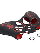 Red Silicone Skin Protective Case Cover for Xbox one Controller