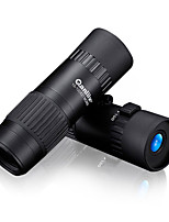 Qanliiy 10-100x21 Pocket Size Mini Hd Telescope Monocular for Travel Sport Scenery Wildlife View Objective Lens
