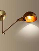 Lampade a candela da parete Stile Mini Rustico Metallo