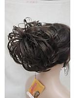 Brown Dome Wiglet Drawstring Ponytail 6