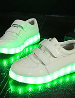 Unisex Kid Boy Girl athletic shoe  Student dance Boot LED Light Athletic Shoe Sport Shoes Flashing Sneakers USB Charge