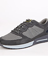 Scarpe da uomo-Sneakers alla moda / Scarpe da ginnastica / Espadrillas-Casual-Scamosciato-Grigio / Blu scuro / Kaki