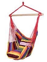 SWIFT Outdoor® Portable High Strength Rainbow Outdoor Garden Indoor Hammock Hanging Chair