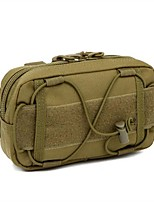 Military Style Outdoor Sports Shoulder Bag-Handbag For 6 Inch Mobile Phone