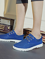 Men's Shoes Casual Tulle Fashion Sneakers Blue / Brown / Gray