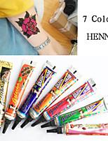 GOLECHA HENNA Paste Tattoo Kit Body Art Temporary Ink Jagua Black Hina Diy Hena