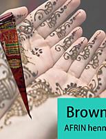 Natural Herbal Henna Cones Temporary Tattoo Kit Body Art Mehandi Ink AFRIN
