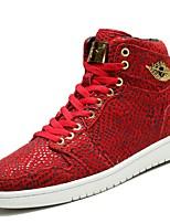 Zapatos Sneakers Piel Sintética Negro / Azul / Rojo / Blanco / Gris Hombre