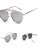 100% UV400 Aviator  Fashion Mirrored Sunglasses